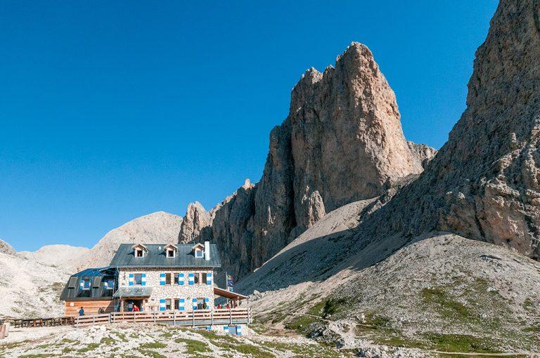 Weekend tra i giganti delle Dolomiti: rifugio Artemoia