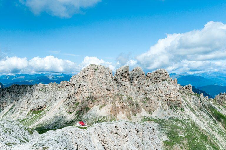 Weekend tra i giganti delle Dolomiti: rifugio