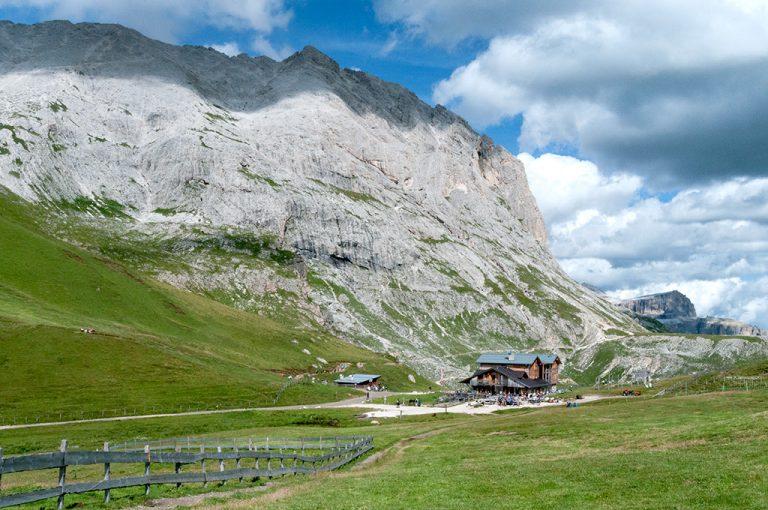 Weekend tra i giganti delle Dolomiti; sasso piatto