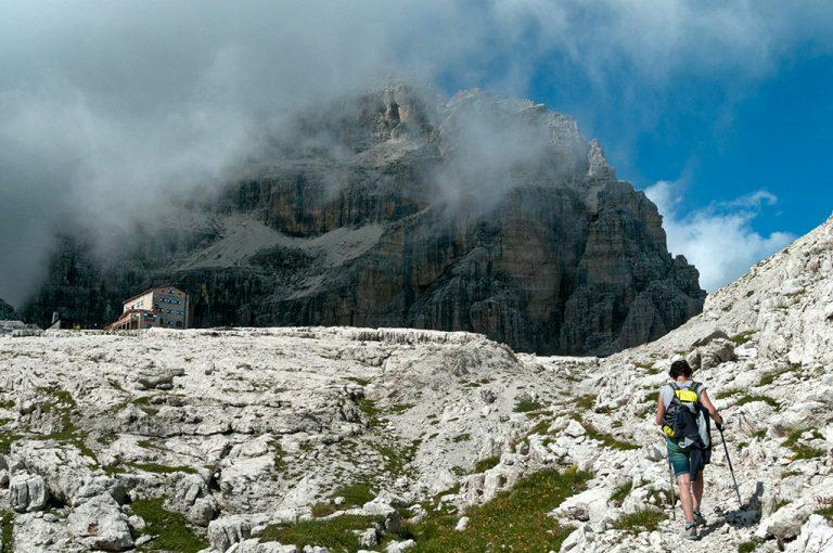 Weekend tra le Dolomiti di Brenta: rifugio Pedrotti