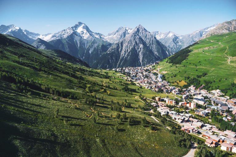 Les 2 Alpes paesaggio