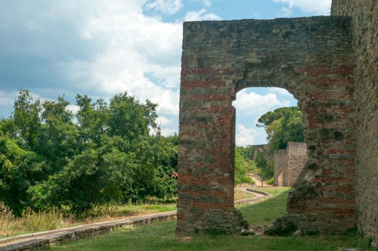 Arezzo: mura