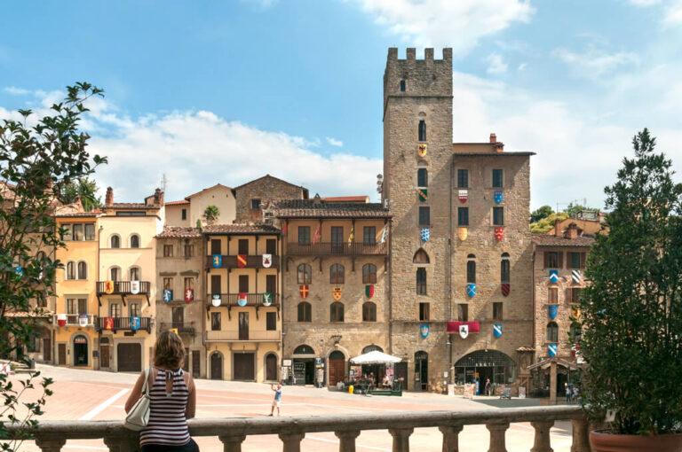 Arezzo: pizza Grande