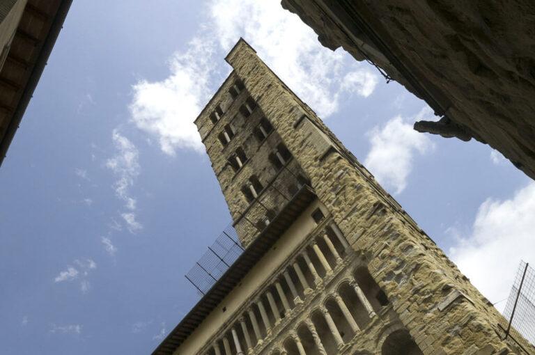 Arezzo: campanile pieve S.Maria Assunta