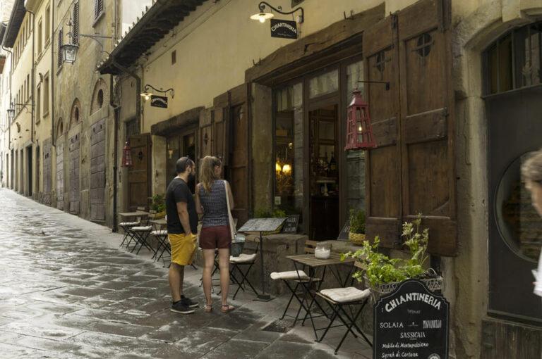 Arezzo: sosta di gusto