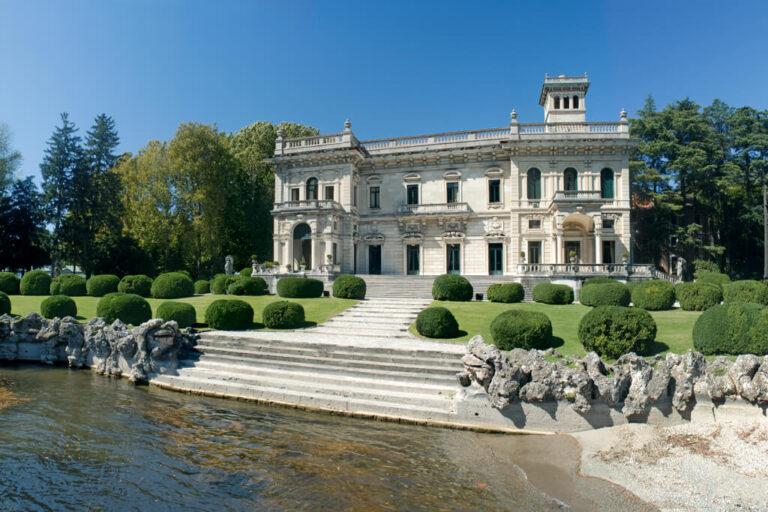 Battello lago di como: Villa Erba