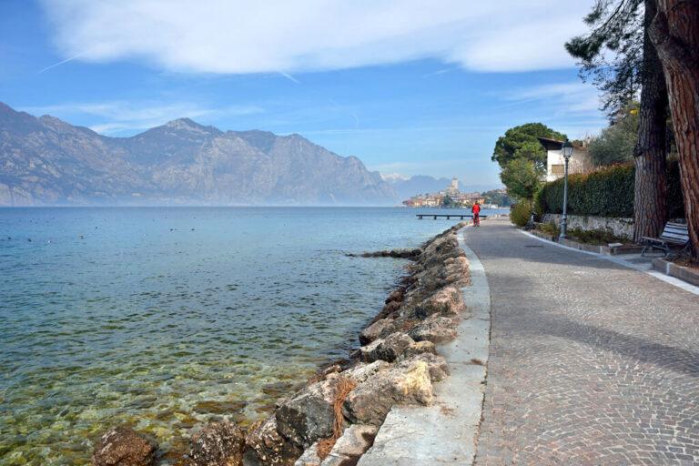 In bici sul lago di garda: ciclabile alle porte di Malcesine