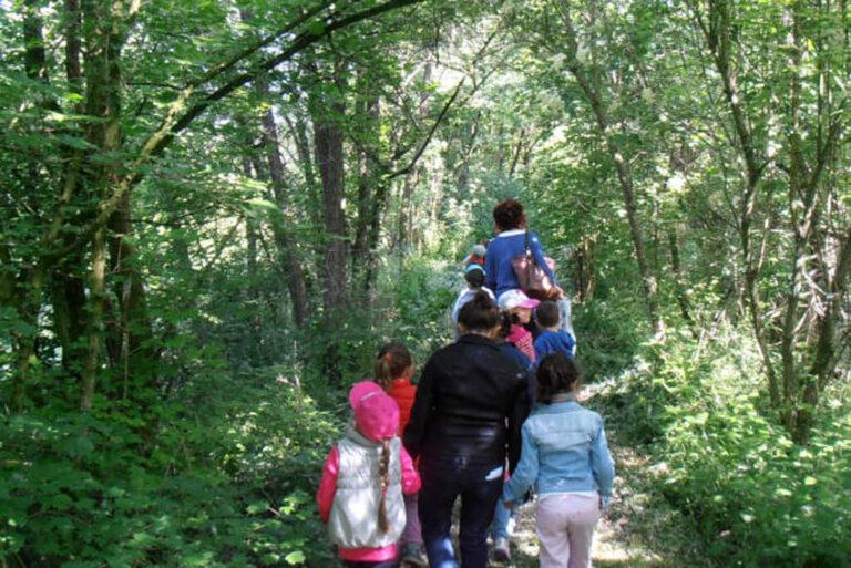 L'oasi naturale le bine: passeggiata
