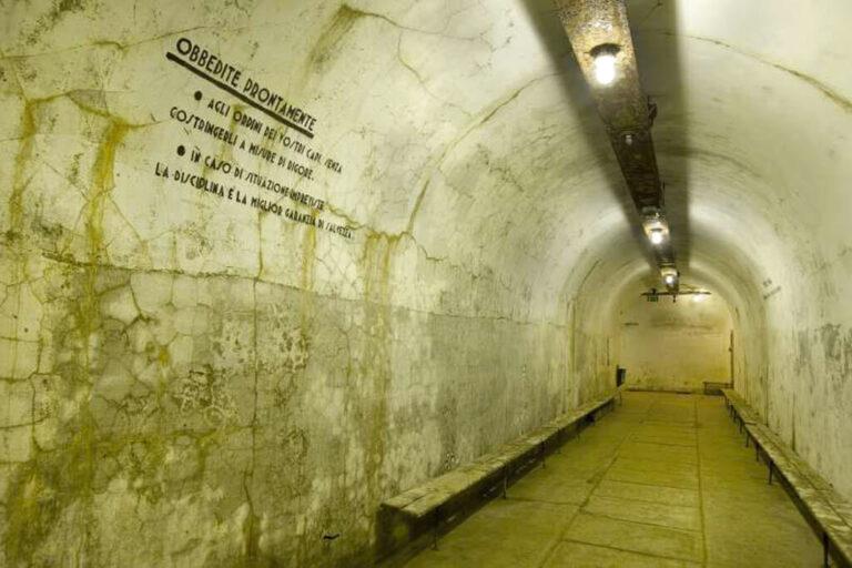 Museo smi: rifugio antiaereo sotterraneo