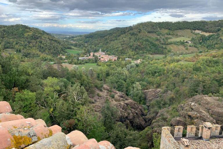 Un giorno al castello di gropparello: panoramica su Gropparello