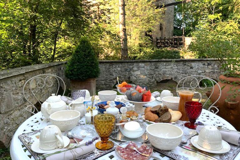 Un giorno al castello di gropparello: colazione al castello