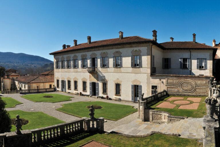 Villa della porta bozzolo: facciata villa 01
