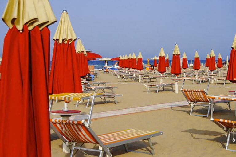 A rimini per un weekend: spiaggia