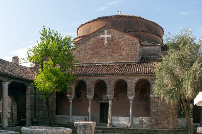 Murano, burano e torcello: santa Fosca a Torcello