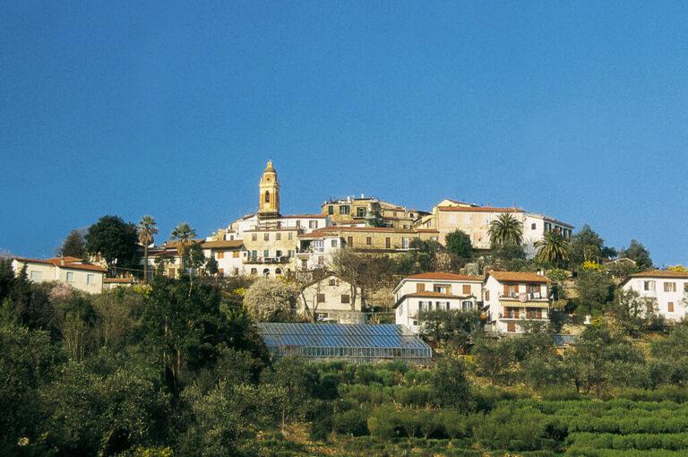 Seborga: veduta del borgo