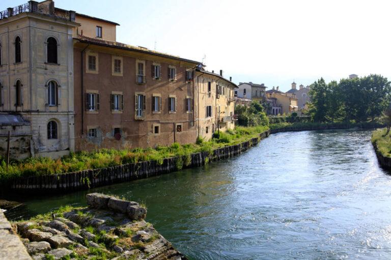 Camper rieti: fiume Velino