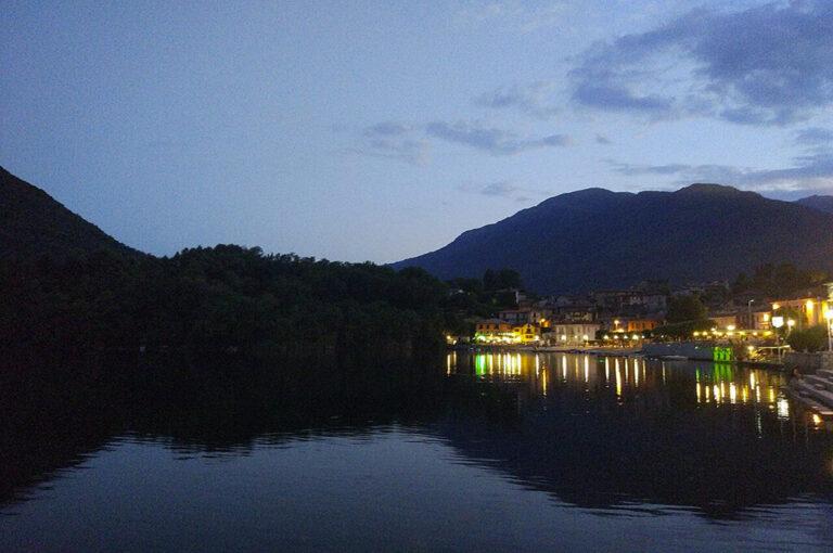 I segreti del lago di mergozzo: mergozzo by night