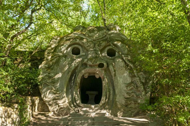 Il parco dei mostri di bomarzo: la scultura dell'Orco